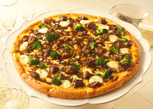 Black Angus Beef Stew Pizza