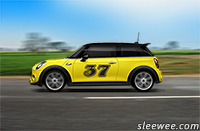 Photoshop CC Spin Blur Effect for Spinning Car Wheels
