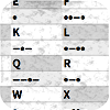 Morse Code Letters and Numbers