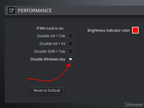 Disable the Windows Key on the Corsair K70 Keyboard -