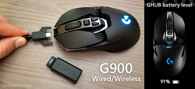 Review of The Logitech G900 Wired/Wireless Gaming Mouse