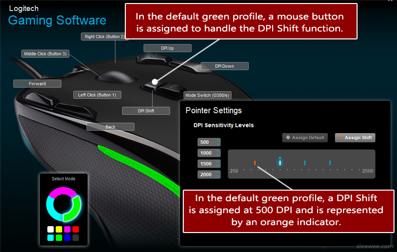 Setting Up G300s Gaming Mouse Profiles in Logitech Gaming