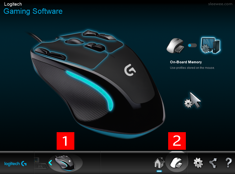 Setting Up G300s Gaming Mouse Profiles In Logitech Gaming Software